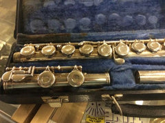 Flute Gemeinhardt 2SP Silver Plate with Hard Case Used
