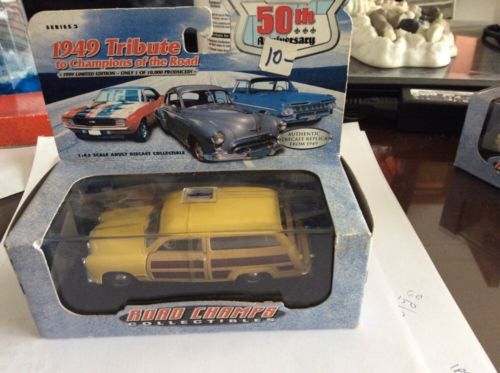 Road Champions '49 Ford Woody - 1/43 Scale Die Cast