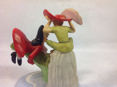 Disney's Magic Memories Peter Pan an Hook Porcelain Figurine