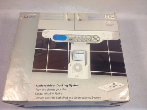 ILive Undercabinet Docking System. Brand New in Box