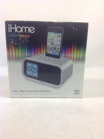 iHome IH22 Alarm Clock Speaker System for iPod/iPhone