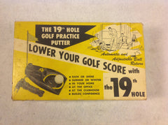 The 19th Hole Golf Practice Putter