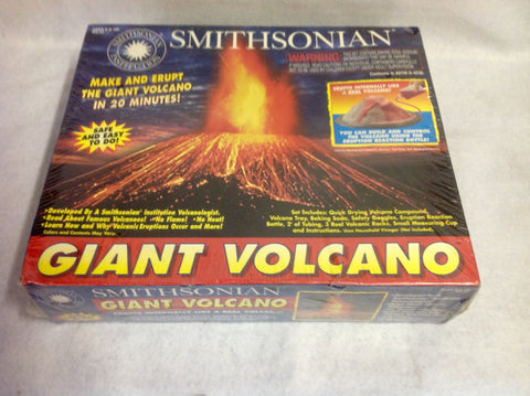 Smithsonian Institution - Giant Volcano Kit. Brand New in Box.