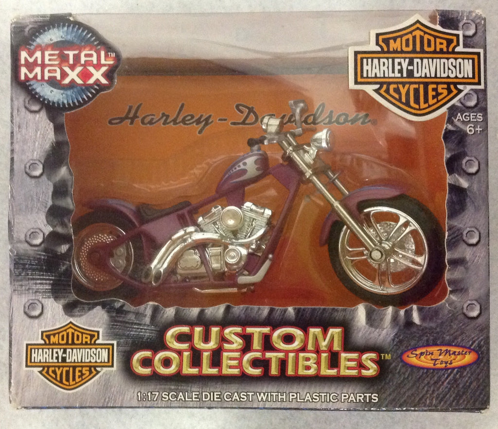 Harley Davidson Custom Collectibles 1:17 FXDWG DYNA WIDE GLIDE.