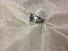 Men's Diamond Cluster Ring set in Sterling Silver
