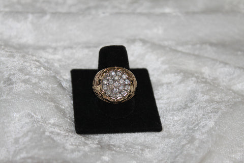 Ladies Kentucky Filigree Diamond Ring