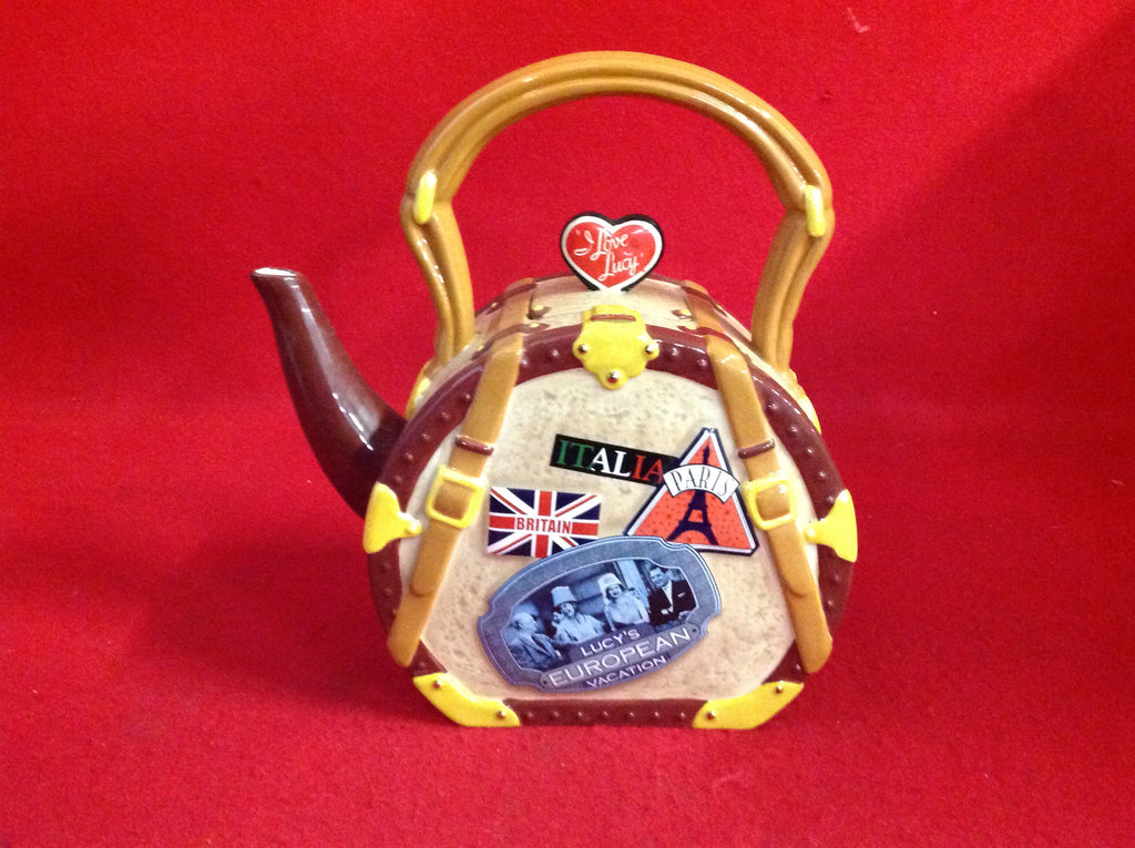 Collectible I Love Lucy Teapot European Vacation
