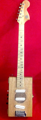 Cigarbox Guitar Handmade 6 String Anthony Cleopatra Cigar Box Guitar
