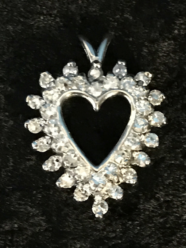 14k Diamond Heart
