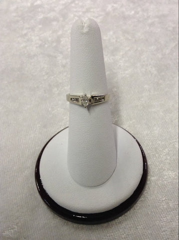 Marquise Engagement Ring with brilliant diamonds
