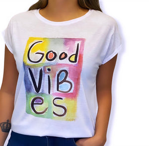 Remera Good Vibes