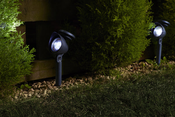 Prima Solar LED Smart Spotlights 3 Lumen - Set of 4 - Black