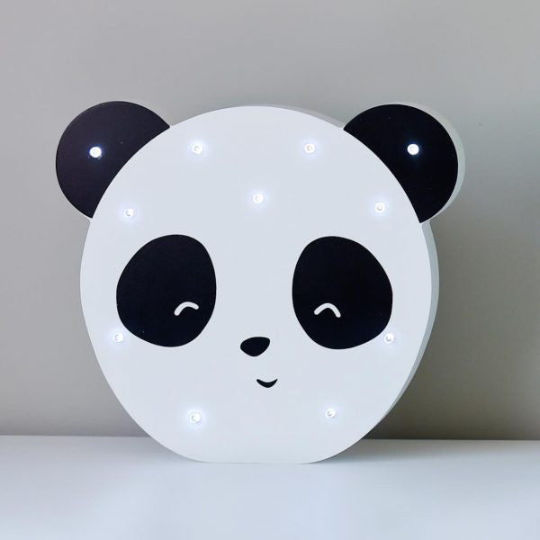 Led Light Up Shapes - Panda - White