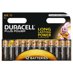 Duracell Plus Power AA LR6 Batteries | Pack of 12