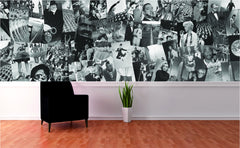 Creative Collage Wallpaper Mural Life Decor