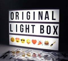 Battery Operated LED Cinematic Light Box - A4 Size