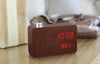 Gingko Radio Click Clock / Amazing Click Radio Alarm - Available in 4 Colour Variants