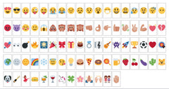 Emoji Symbols x85 for A4 Cinematic Light Box