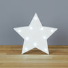 Led Light Up Shapes - Star - White