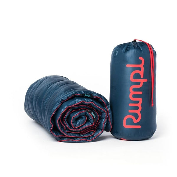 Rumpl High Performance Travel Blanket Deepwater or Charcoal Premium Quality