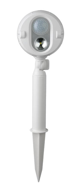 Mr Beams Spotlight Ground Stake Fitting - Available in White or Dark Brown