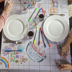 The Doodle Draw Tablecloth