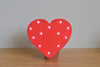 Led Light Up Shapes - Heart - Red