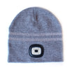 X-Cap LED Beanie Headlight Hat with Integrated LED - Grey