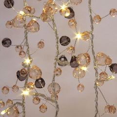Coco Chic Warm White Crystal Fairy Light Chain with 27 LEDs