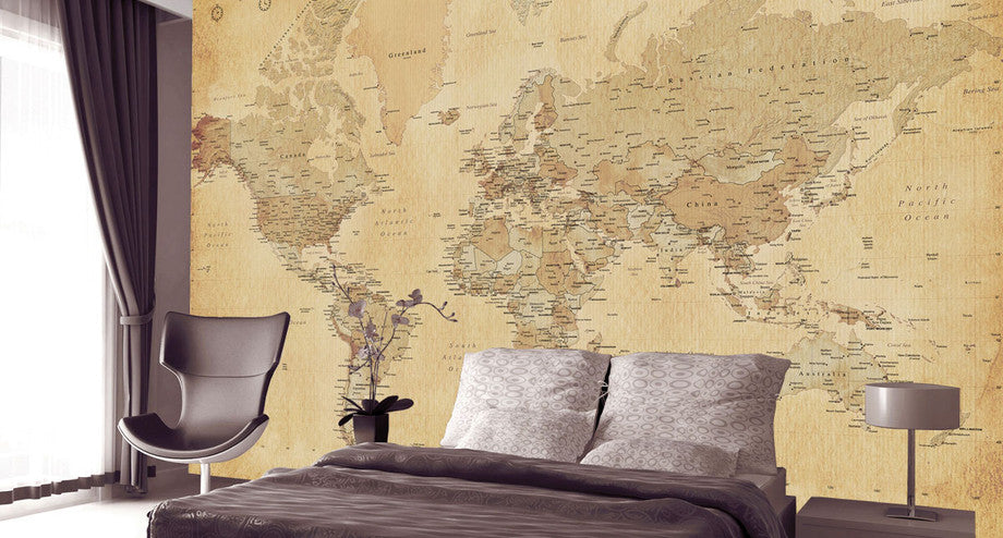 wall murals and featured walls