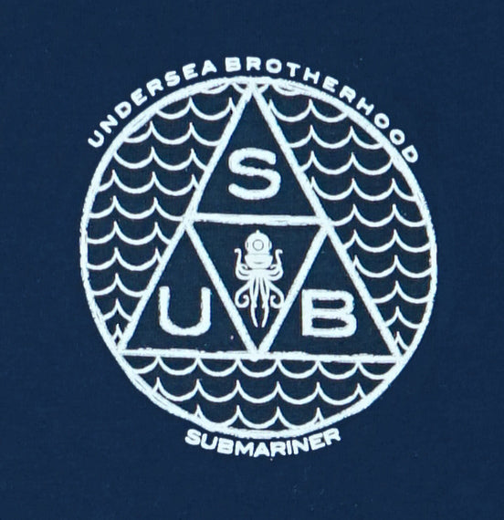 Undersea Brotherhood T-Shirt - closeup | Submariner