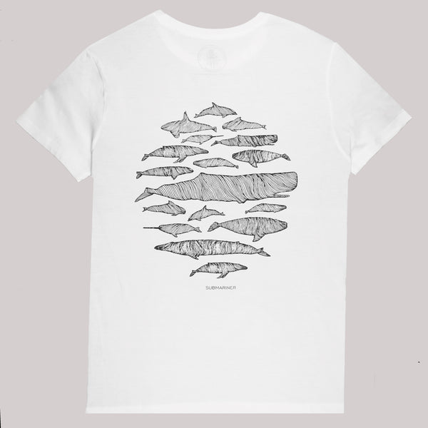 Cetaceans T-Shirt - Back | Submariner