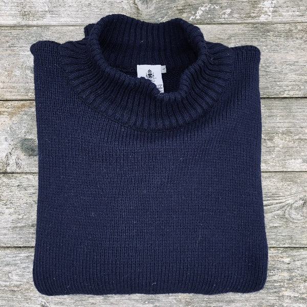 Navy Coastal Sweater - Men's Clothes