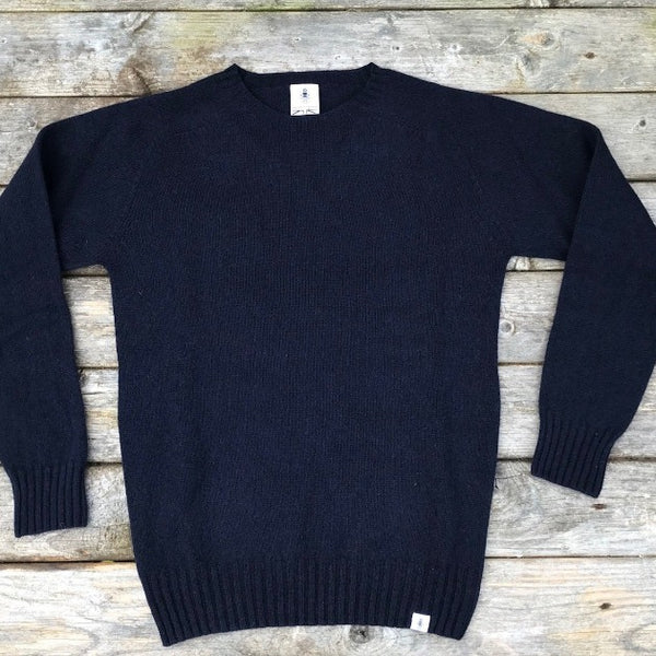 Beaufort navy Sweater - Men's Clothes