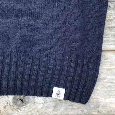 Beaufort Navy Sweater Detail brand - Men's Clothes