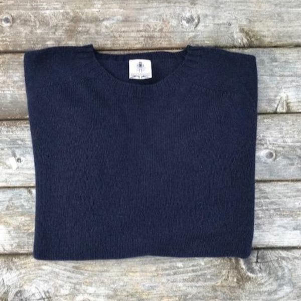 Beaufort navy Sweater - Front - Men's Clothes