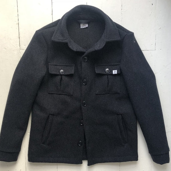 Navy Reefer Jacket