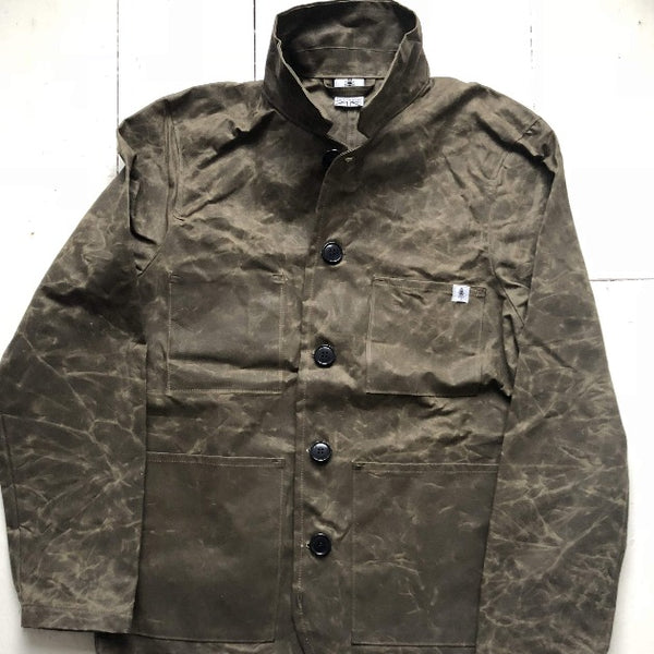 Waxed cotton shred jacket - Men's Clothes