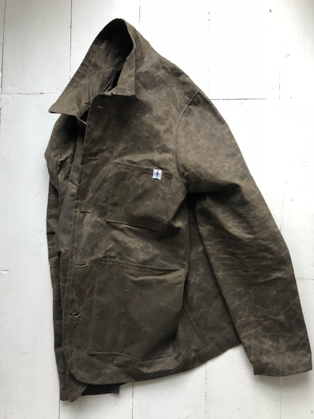 Waxed Cotton Shred Jacket