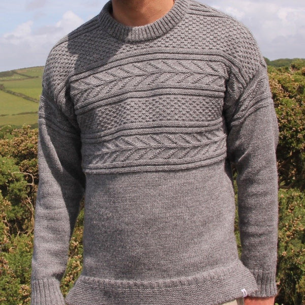 Model wearing Marlin Sweater - Men's Clothes