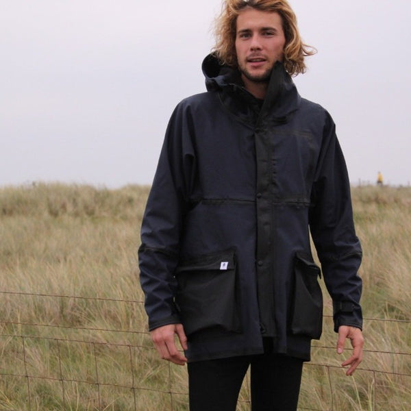 Model wearing Larsen Jacket - Men's Clothes