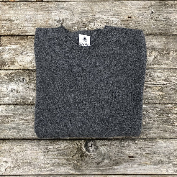 The Beaufort crew neck - Dark Grey