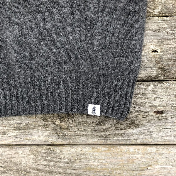 Beaufrot Grey Sweater - Men's Clothes