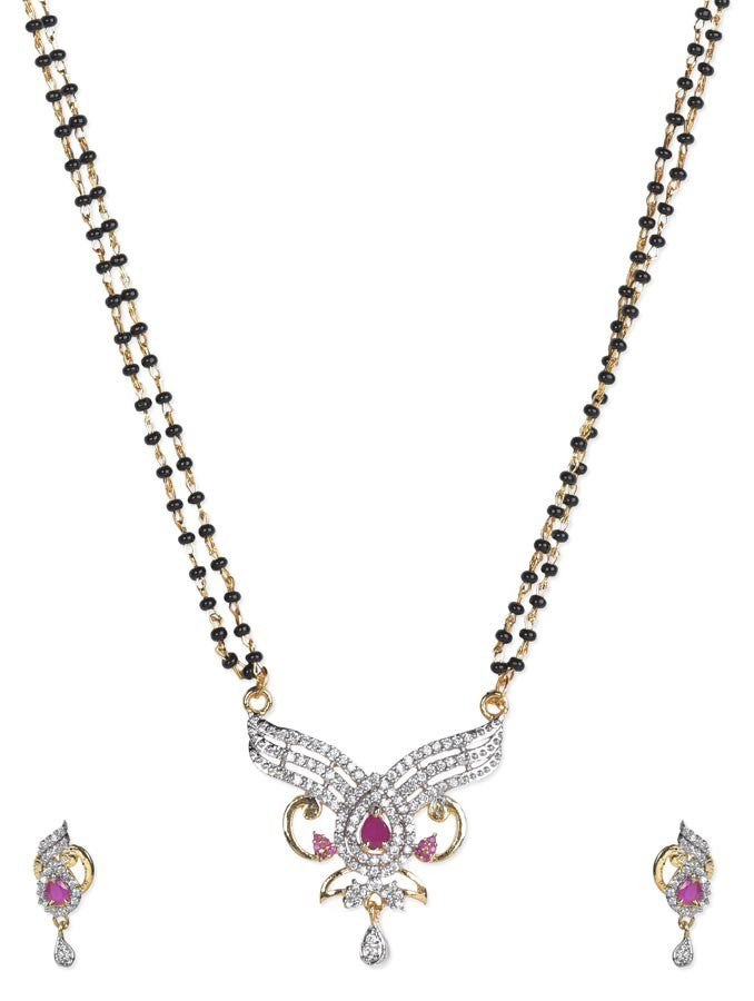 Luxurious Gold Plated Necklcae Set