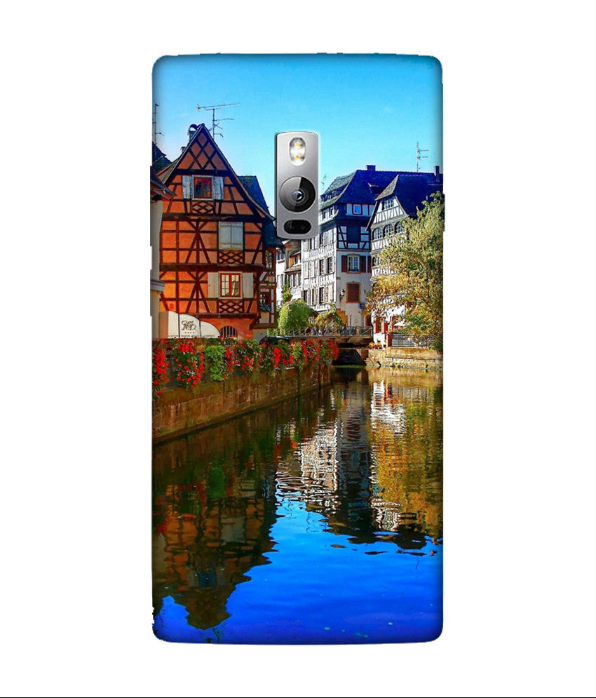Creatives 3D House OnePlus Case