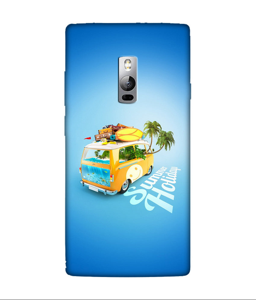 Creatives 3D Summer Holiday OnePlus Case