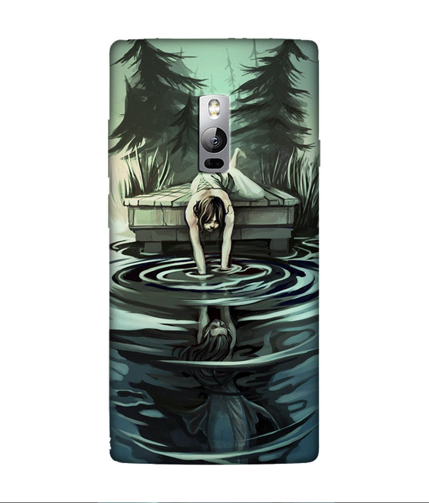 Creatives 3D Water Painting OnePlus Case