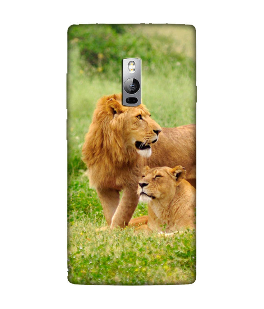 Creatives 3D Lions OnePlus Case