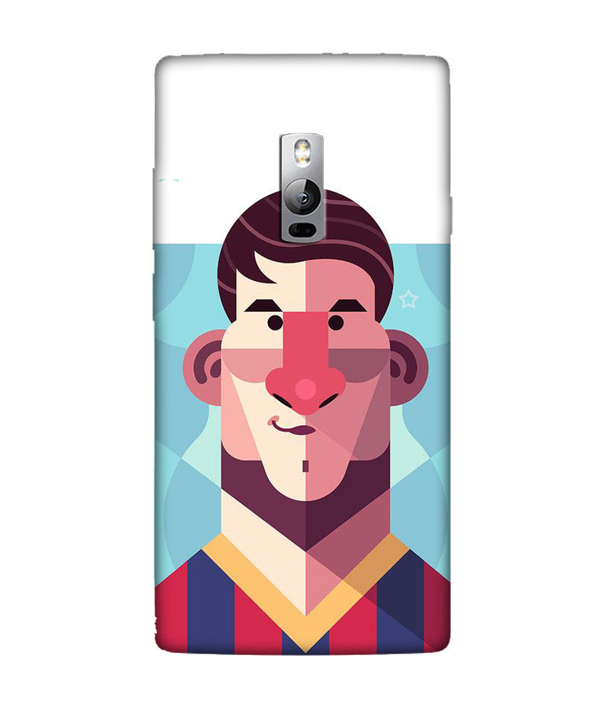 Creatives 3D Lionel Messi OnePlus Case