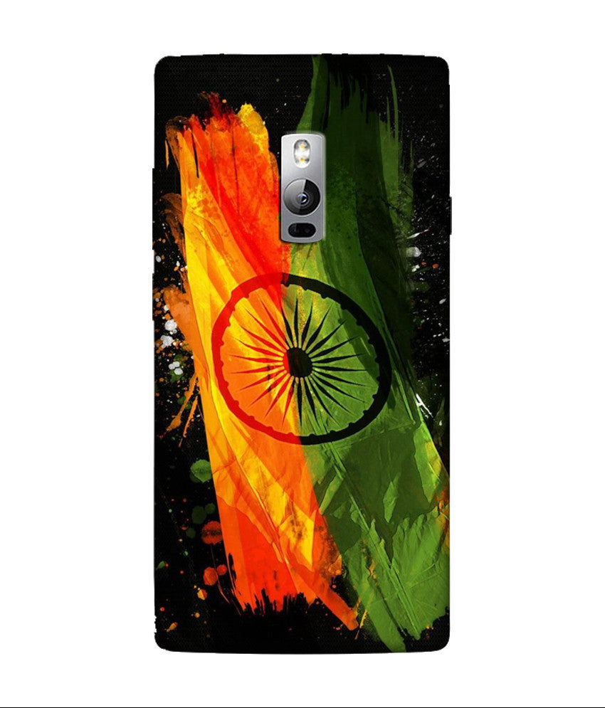 Creatives 3D India Flag OnePlus Case